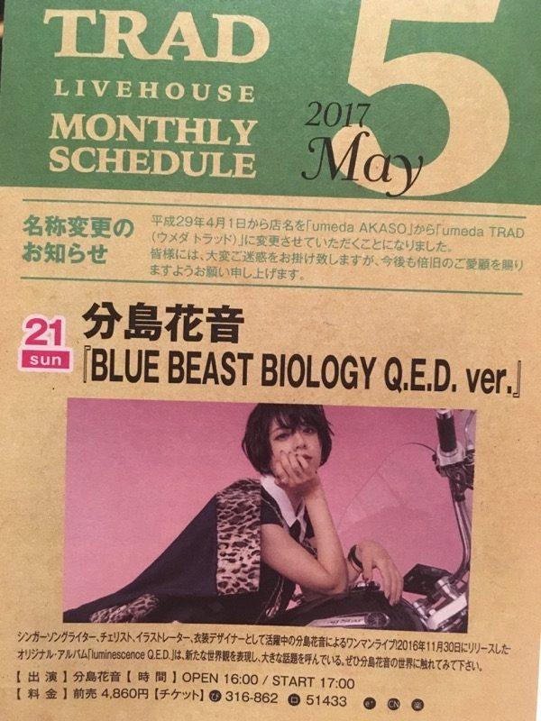 BLUE BEAST BIOLOGY Q.E.D. ver